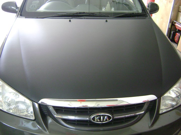 Bonnet -Black CF