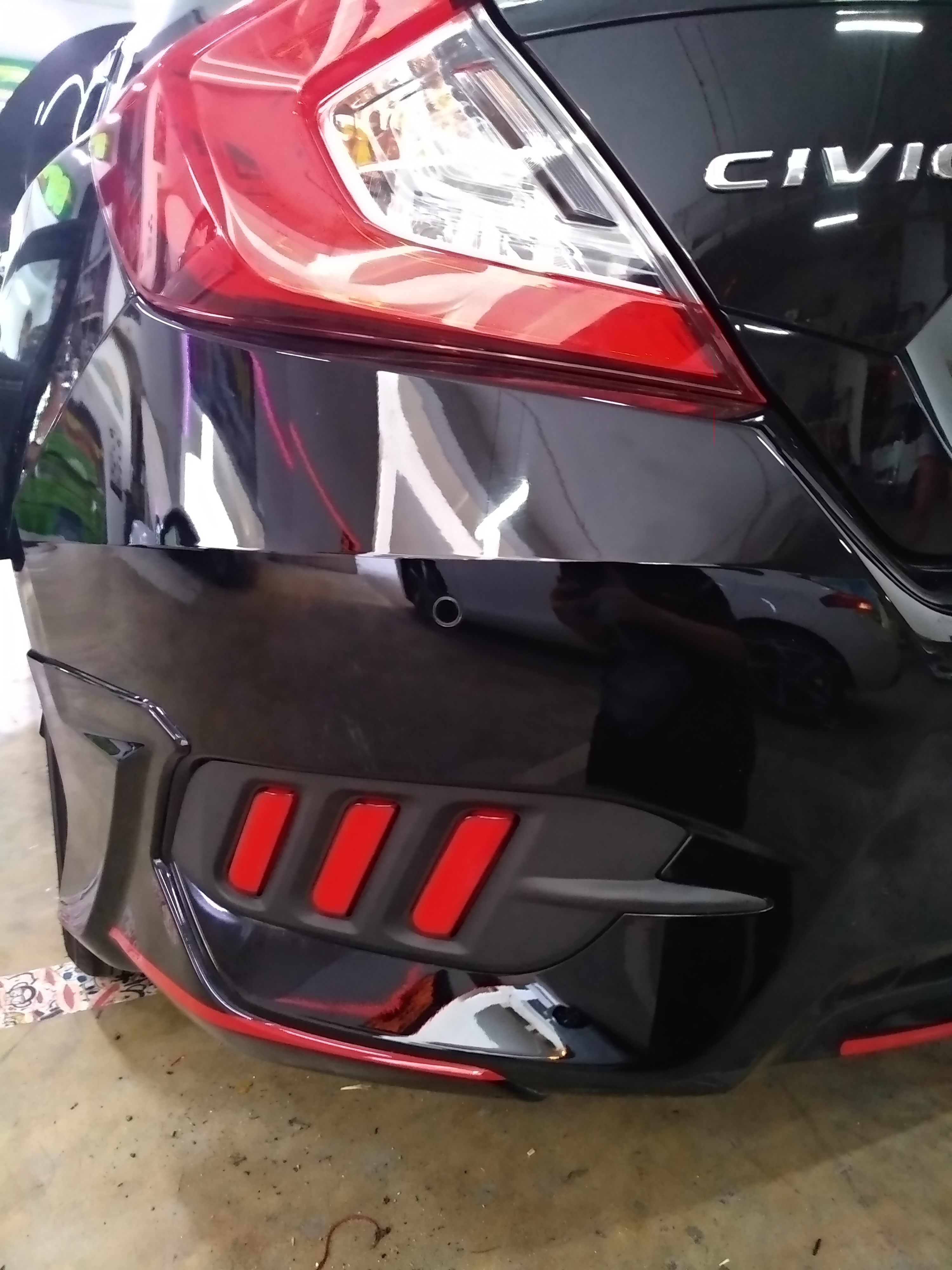 Triple LED Bumper Deflector