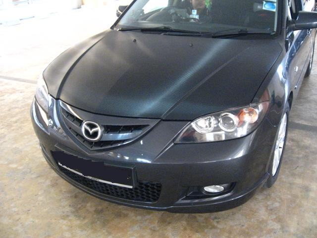 Bonnet (Mazda3) -Semi Gloss CF