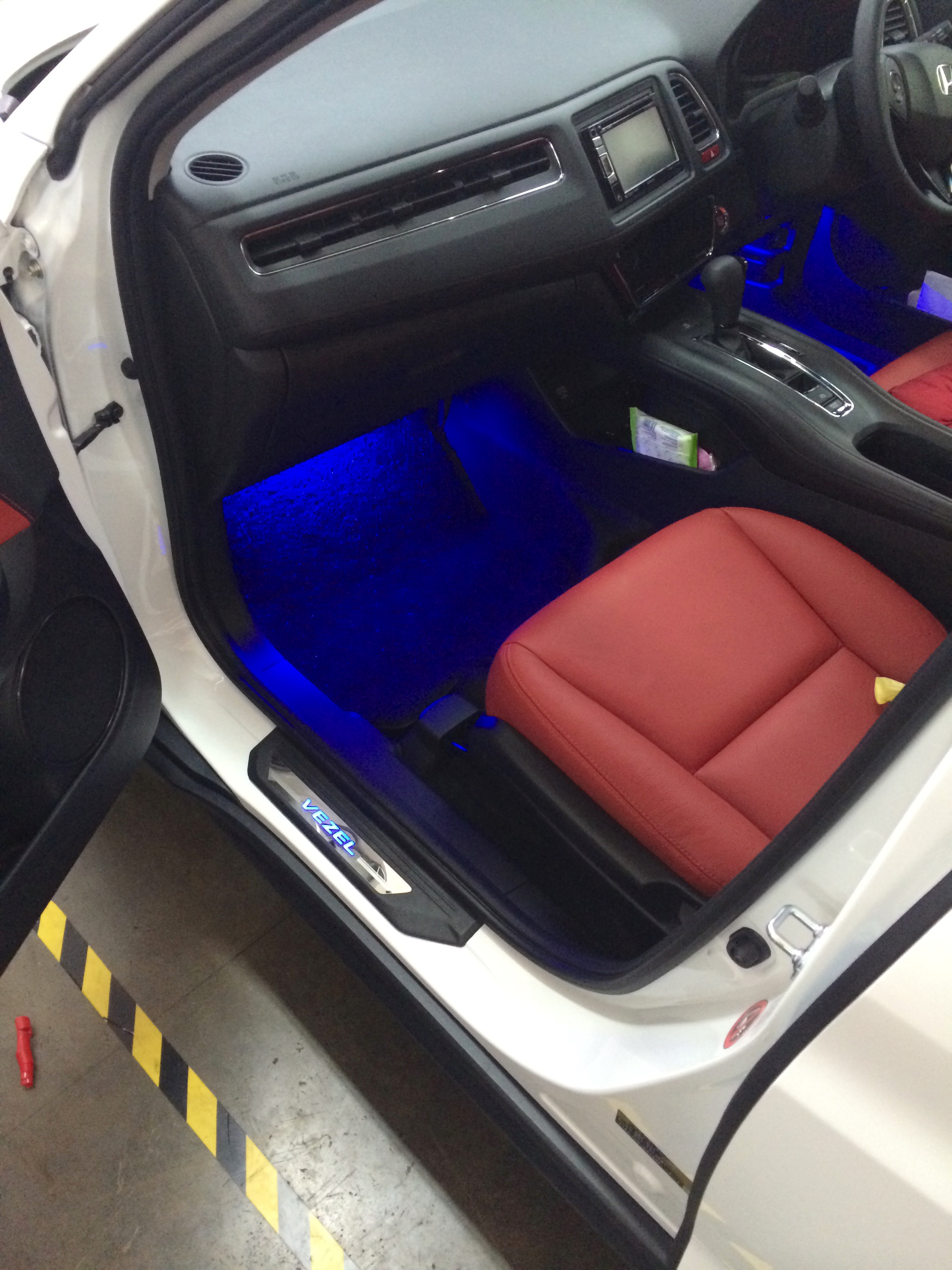 Car Repair Insurance >> LED Scuff Plate (Blue) - $105.00 : Carbon Fibre Sticker Singapore, Carbon Fibre Sticker ...