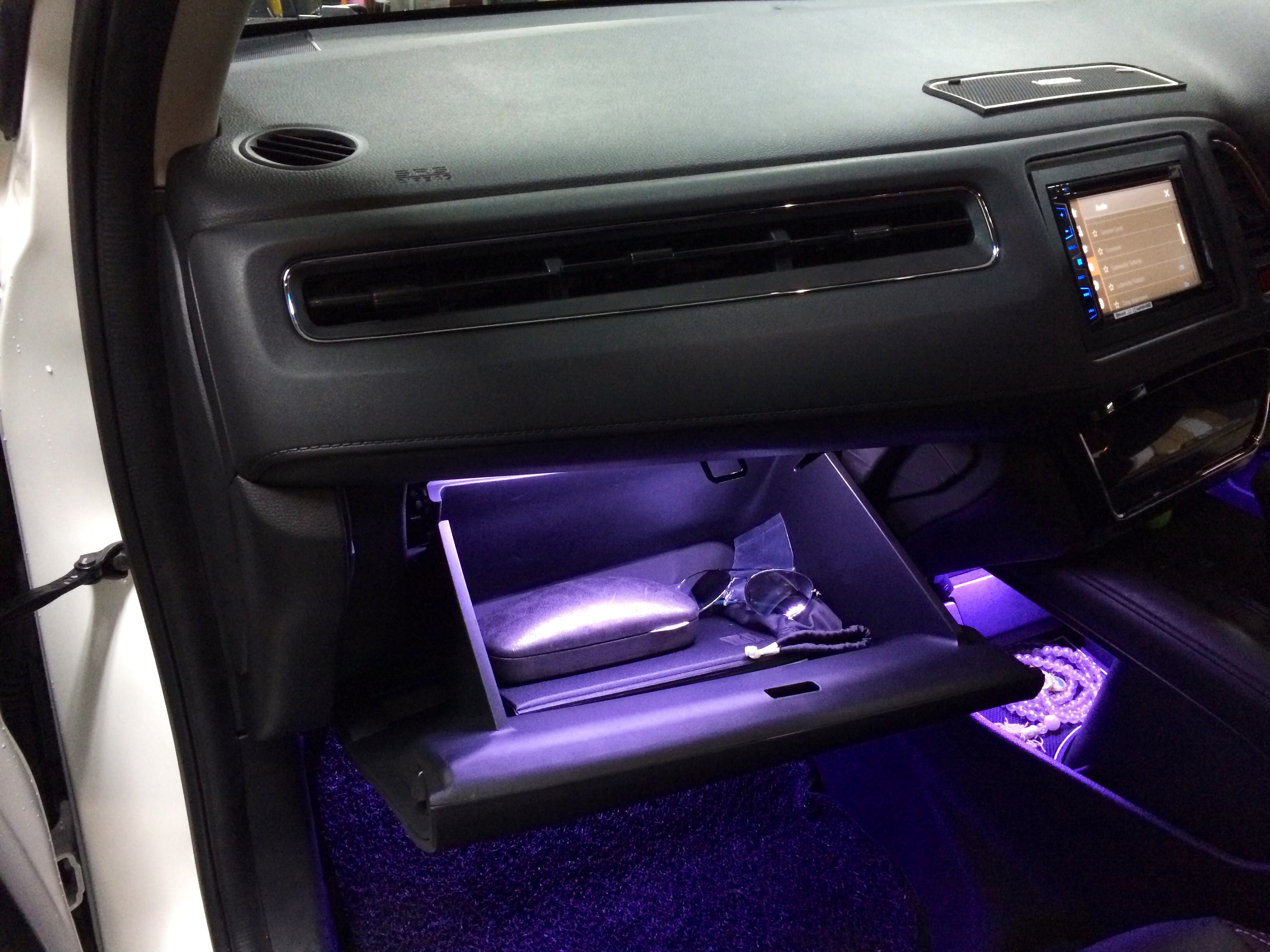 Glove Compartment Light with Auto Switch