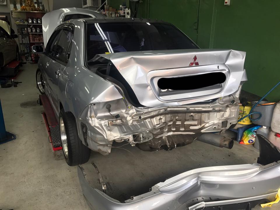 lancer cs3 serious accident claim