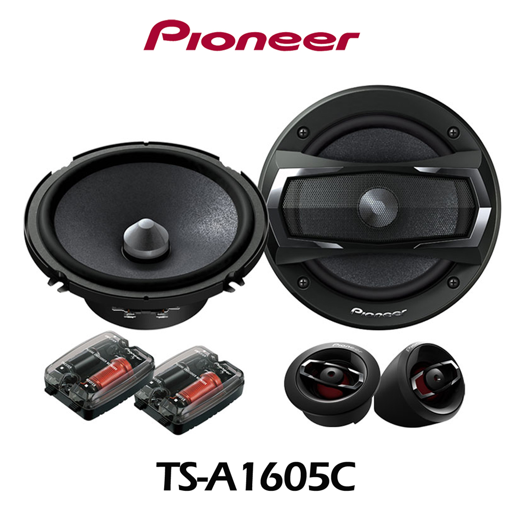 Front: Pioneer Component System -A1606C (For Mix Song)