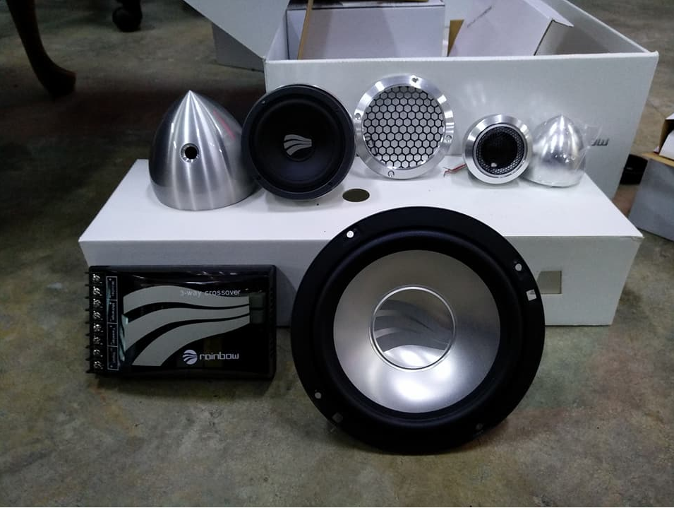 Rainbow Sound Line 6.3 ( 3 ways speaker)