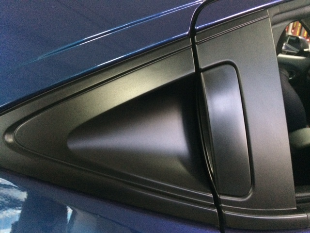 SemiGloss Black Pillar/handle Scratch Protection Wrap