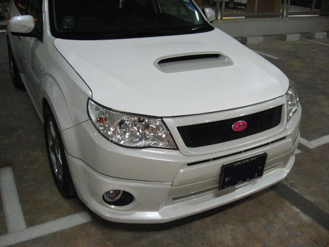 Bonnet (Forester) -White CF