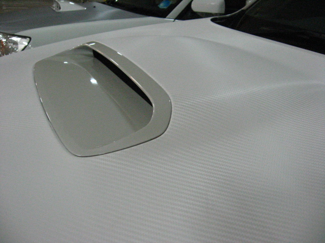 Bonnet (Forester) -White CF Close up
